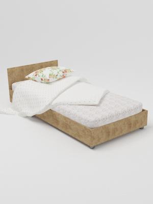 Кровать одноярусная (сосна)