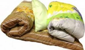 Спальный комплект с бельем