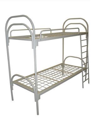 Кровать двухъярусная металлическая №1