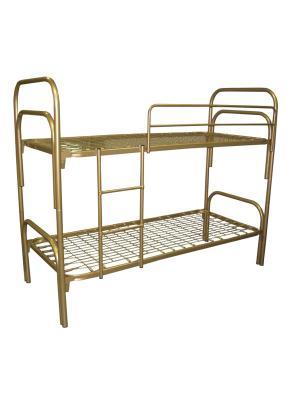 Кровать двухъярусная металлическая №2