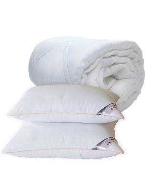 Одеяло Экофайбер+Подушки Экофайбер (поверхность микрофибра)