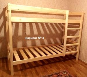 Кровать хостел двухъярусная стандарт