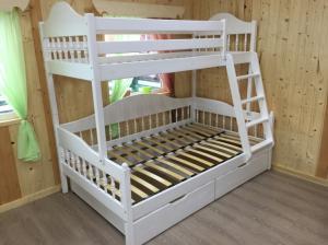 Кровать двухъярусная, семейная